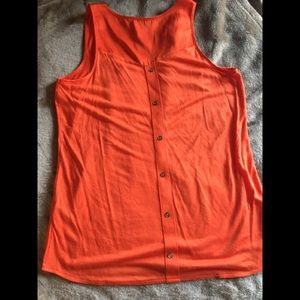 Orange Outback Red Blouse